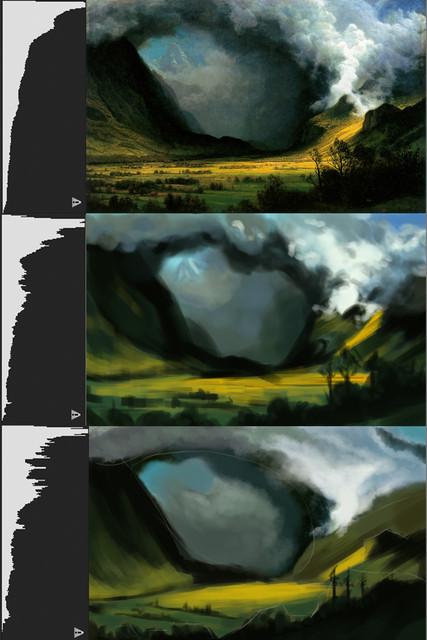 Albert Bierstadt Storm in the Mountains 1870