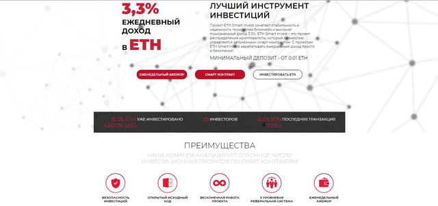ETH Smart Invest - ethsmartinvest.io