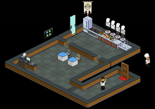 [-Shonane-] Centre de Formation 07-R-F-Salle-de-Restaurant