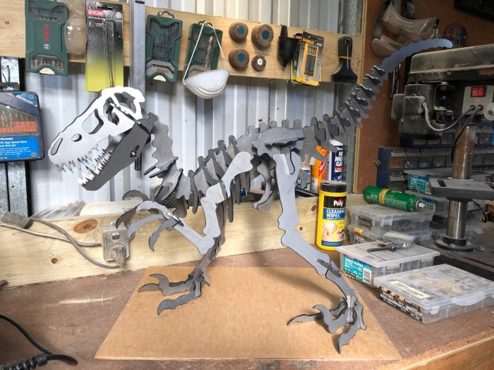 3 foot velociraptor dinosaur display museum model