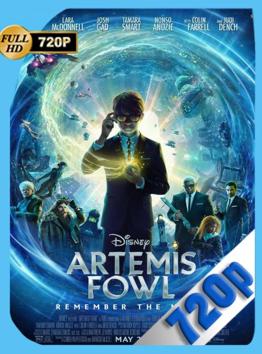 Artemis Fowl: El Mundo Subterráneo (2020) WEBRip [720p] Latino [GoogleDrive] [zgnrips]