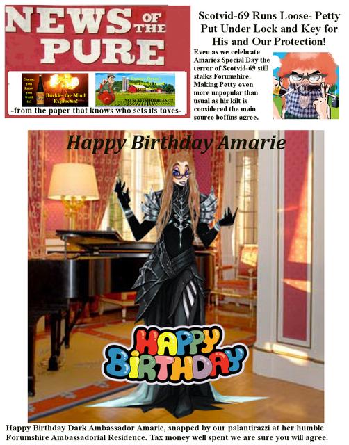 Happy Birthday Madam Ambassador  P1