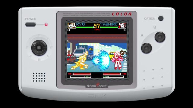 NEOGEO POCKET格⾾傑作陸續登陸Nintendo Switch! KOF-R2-EN01
