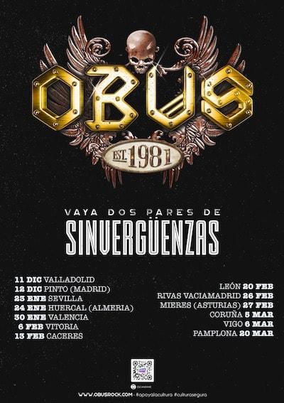 "Próximas fechas gira ""Vaya Dos Pares de Sinvergüenzas"""