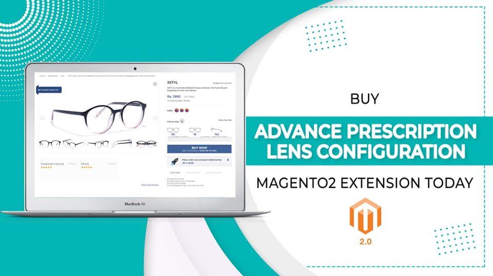 magento lens prescription extension
