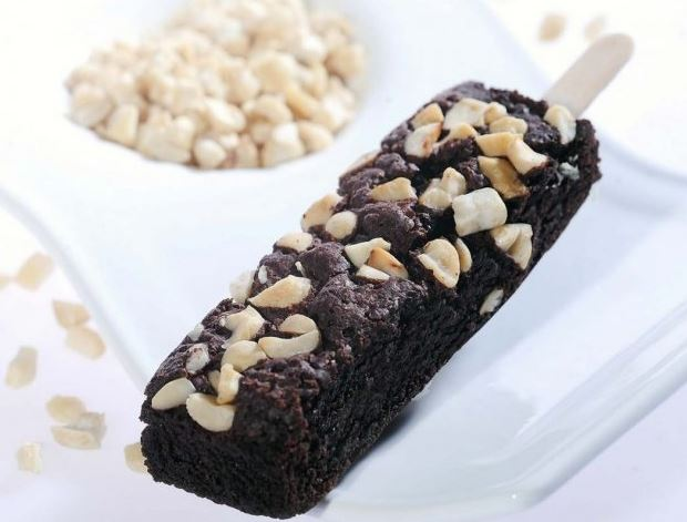 stik brownies forezen beku rasa coklat