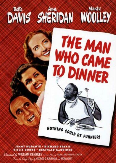 Człowiek, który przyszedł na obiad / Man Who Came to Dinner (1942) PL.AC3.DVDRip.XviD-GR4PE | Lektor PL