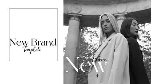 black and white fashion opener 32232089 - Project for After Effects (Videohive)