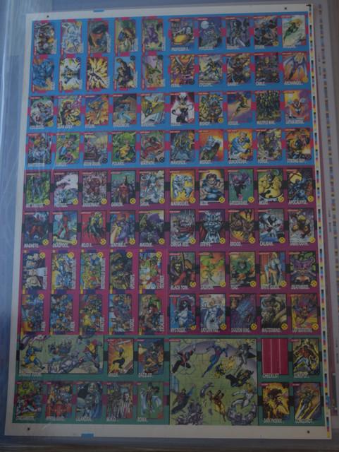 X-Men-Series-1-1992-Uncut-Sheet-1