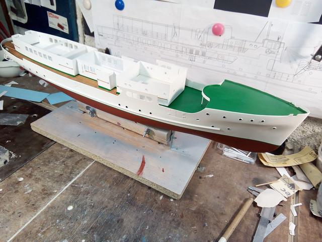 """Putnički brod """"Trogir"""" 1:62 IMG-20190821-193029"""
