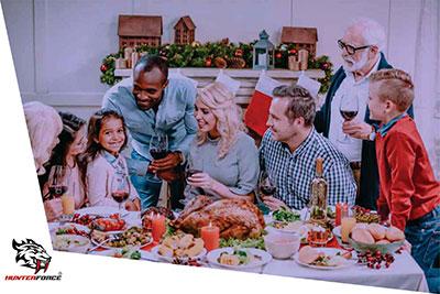 Festas de final de ano e apreciação de alimentos considerados vilões.