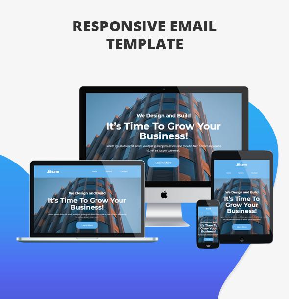 Bisam - Responsive Email Template - 2
