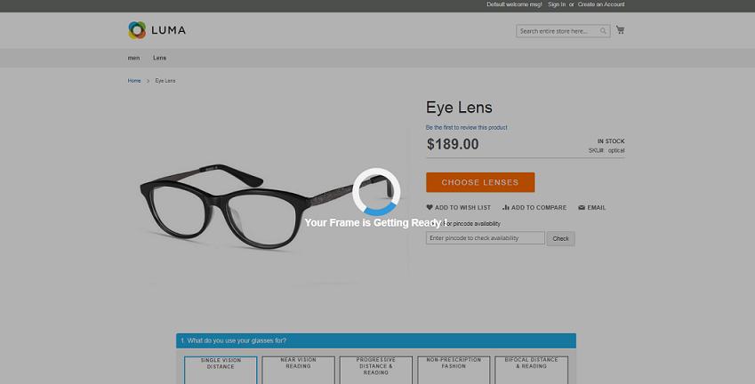 lens premium package