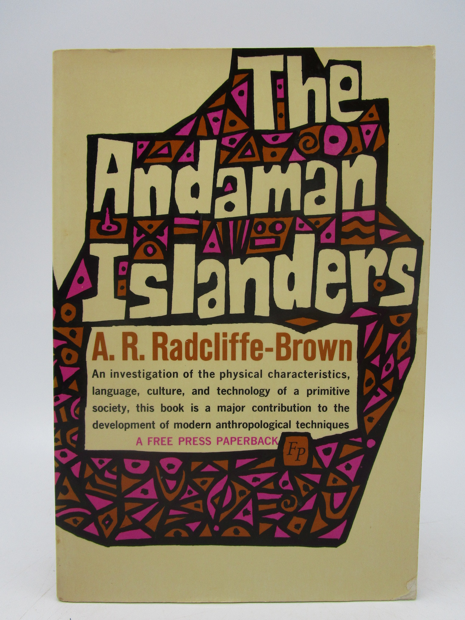 Image for The Andaman Islanders (First Thus)