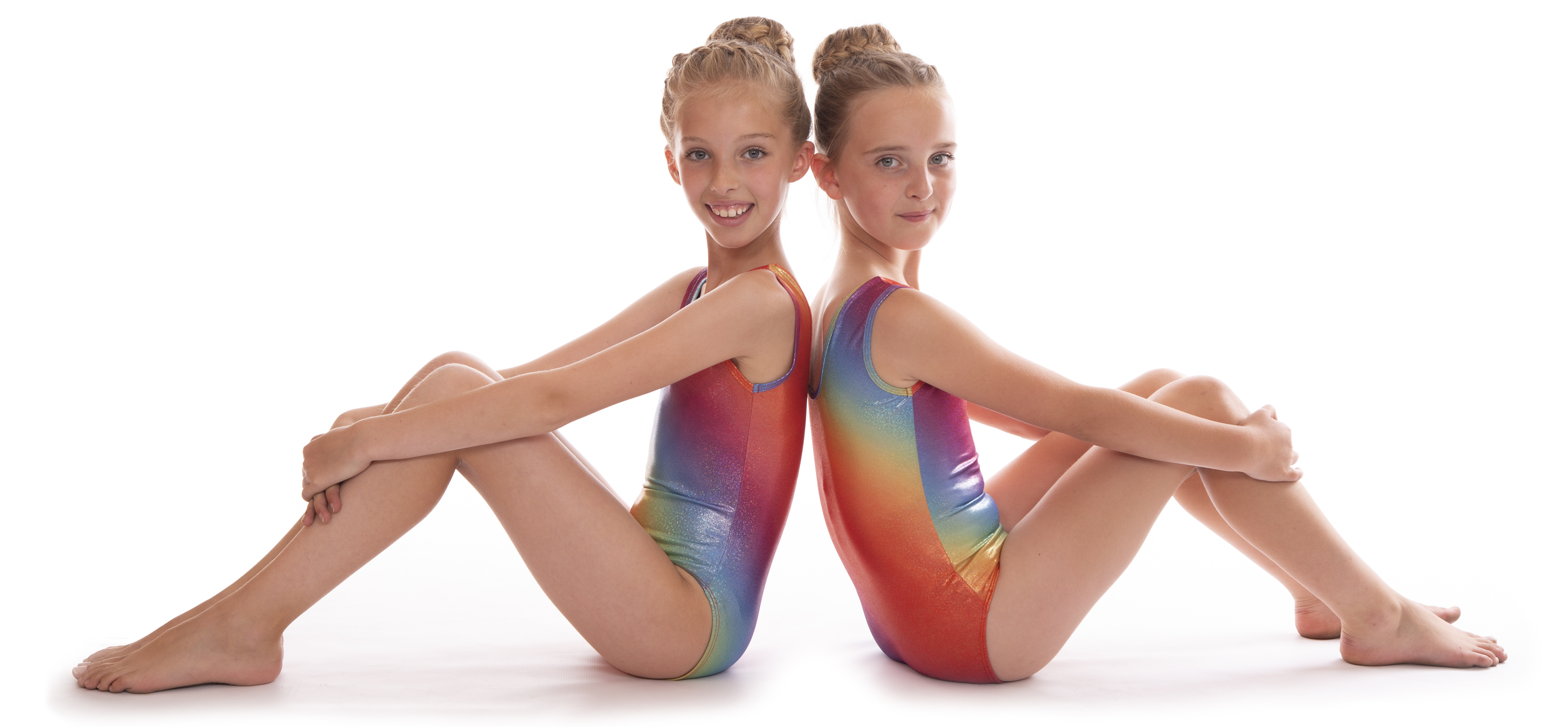 c88359a36 Deluxe Edition  Girls Pink Shiny Metallic Gym Dance Leotard for ...