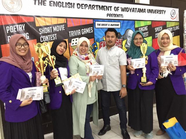 Fakultas Ekonomi Universitas Pakuan memenangkan dua Kategori Lomba pada E-Fest 2020