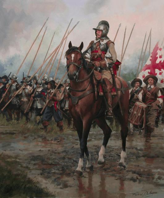 capitan-al-frente-de-su-compania-en-un-tercio-768x926