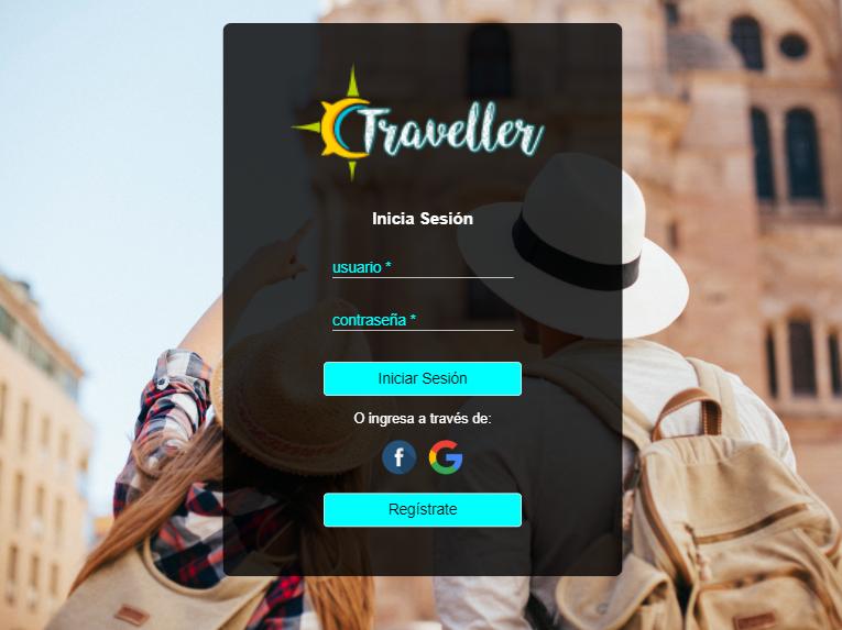 Traveler- Red Social