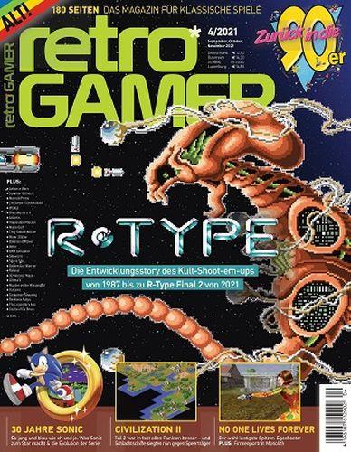 Cover: Retro Gamer Magazin No 04 September-November 2021