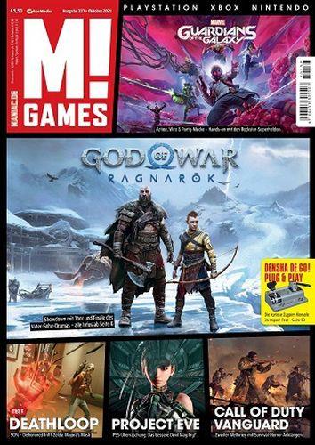 Cover: M! Games Magazin Playstation Xbox Nintendo No 10 Oktober 2021