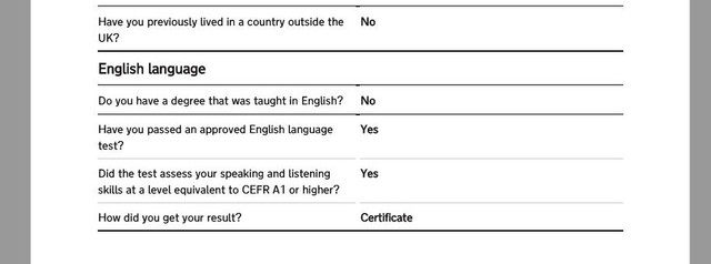 English Test Question in Online Form - Immigrationboards com