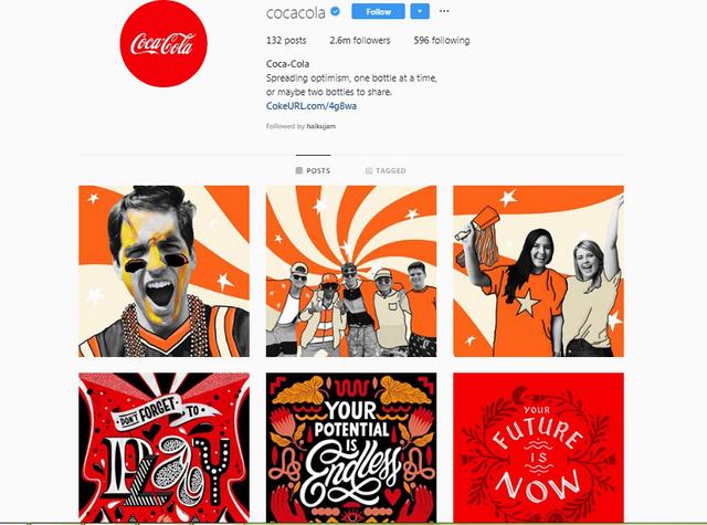 Coca-Cola-instagram