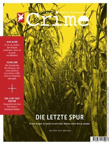 Cover: Der Stern Crime Magazin (Wahre Verbrechen) No 38 August 2021
