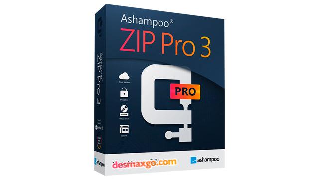 Ashampoo ZIP Pro v3.05 [32/64][Comprimir, extraer y encriptar en alta velocidad]