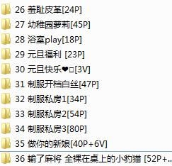[工口小妖精] 36套 5.38G