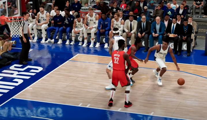 NBA 21 Screenshot from the game