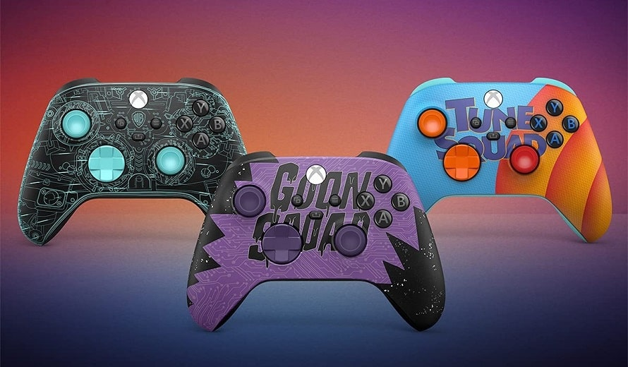 Space-Jam-Controllers