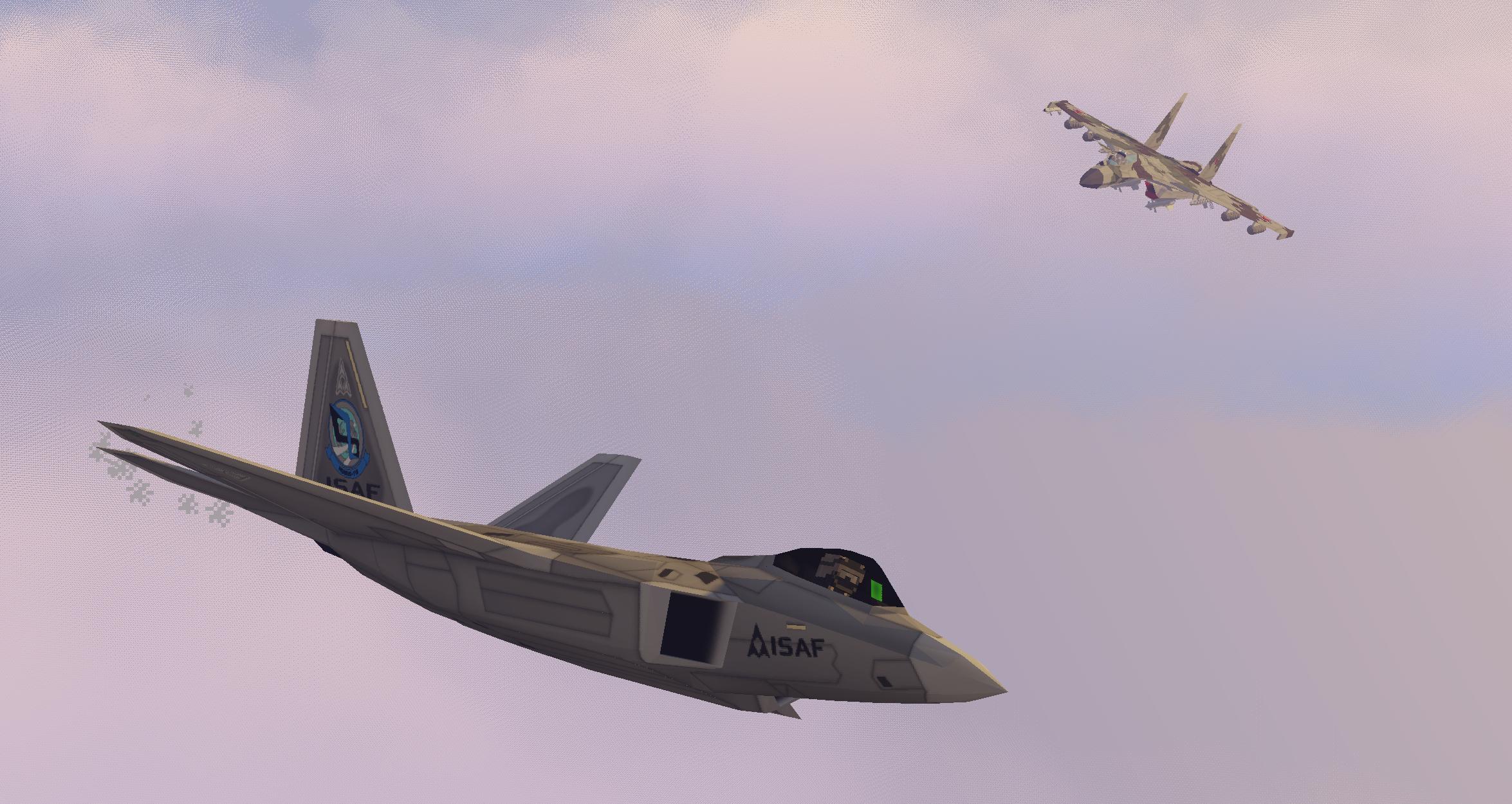 F-22-y-Su-37