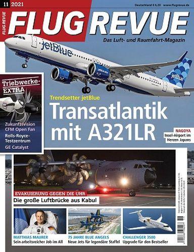 Cover: Flugrevue Das Luft- und Raumfahrt-Magazin No 11 2021