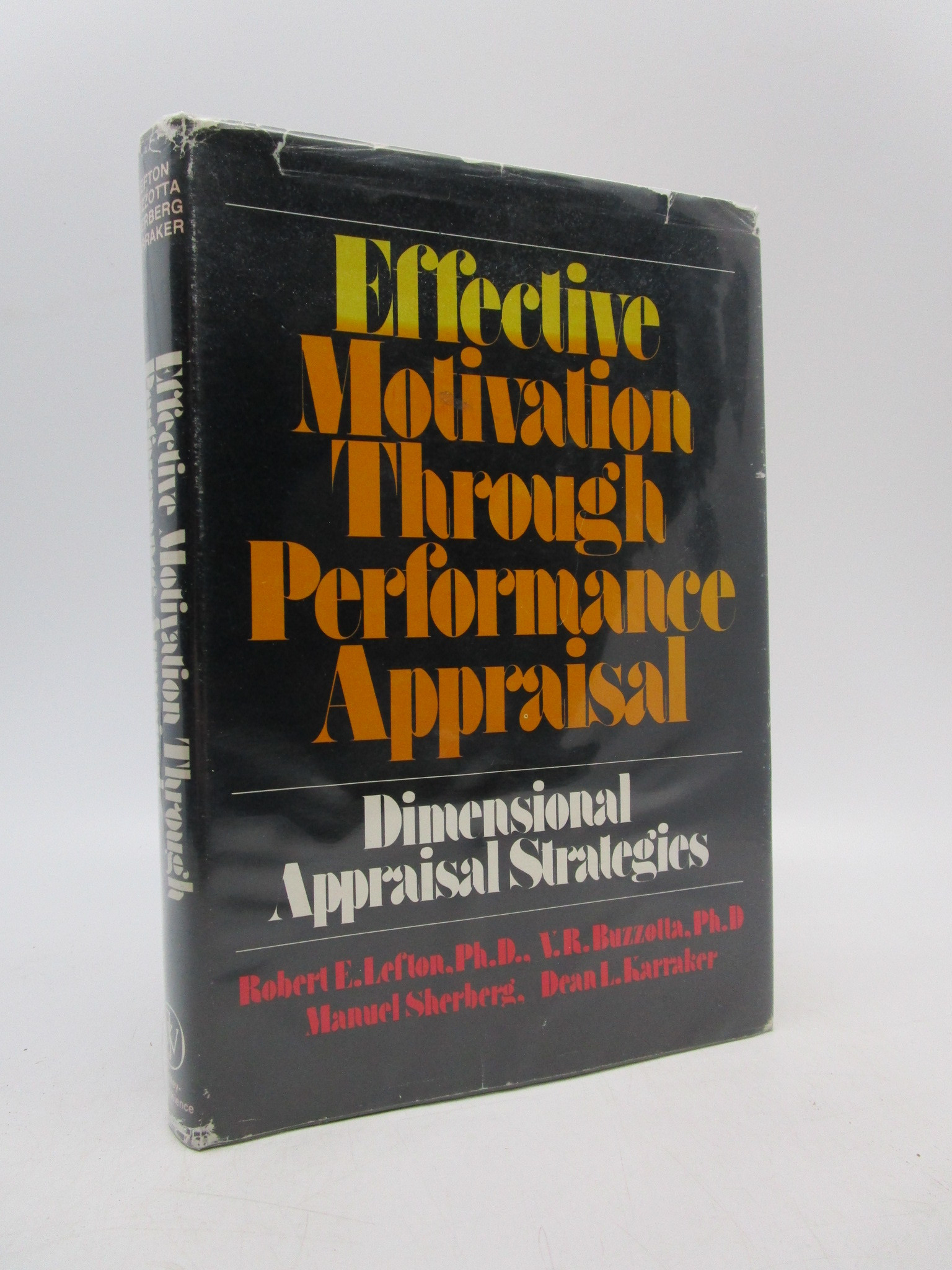 Image for Effective Motivation Through Performance Appraisal: Dimensional Appraisal Strategies