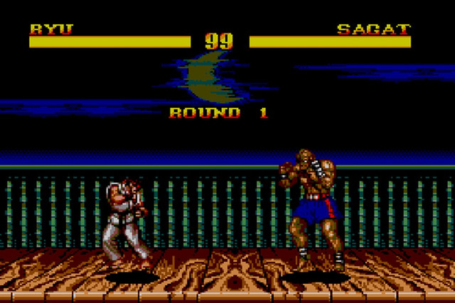 Street Fighter master system