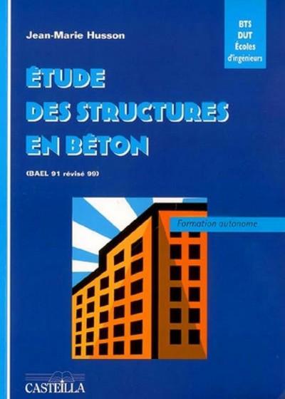 Etude des structures en béton