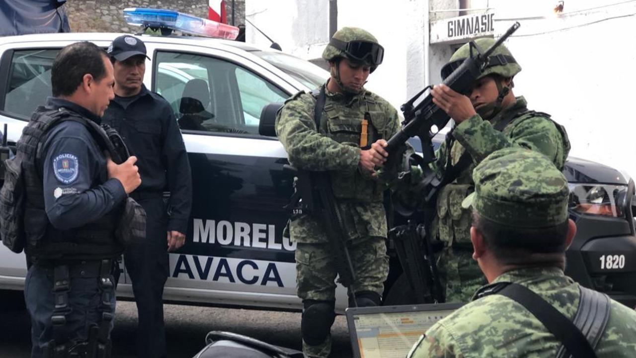 México: El Ejército toma el control de tres Policías municipales en Morelos