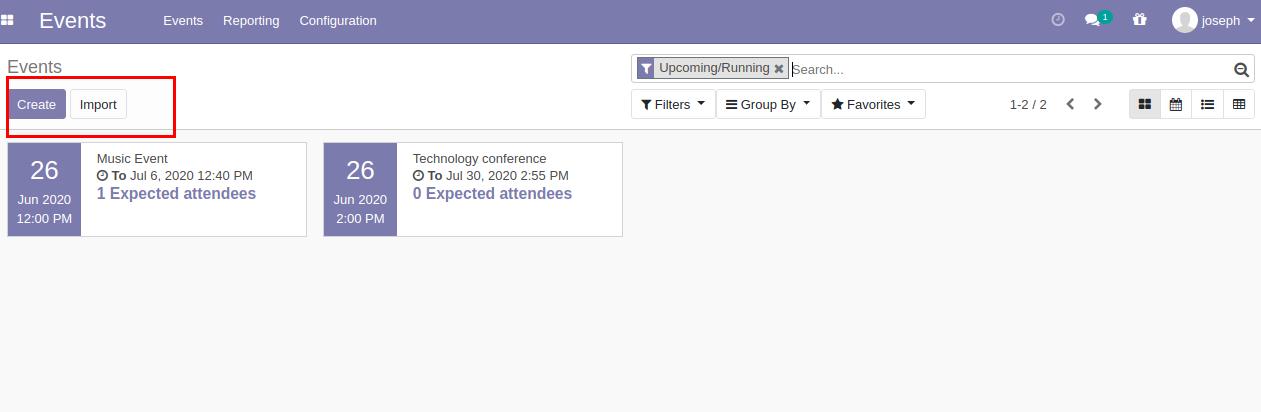 event booking module for odoo 14, odoo 13, odoo 12