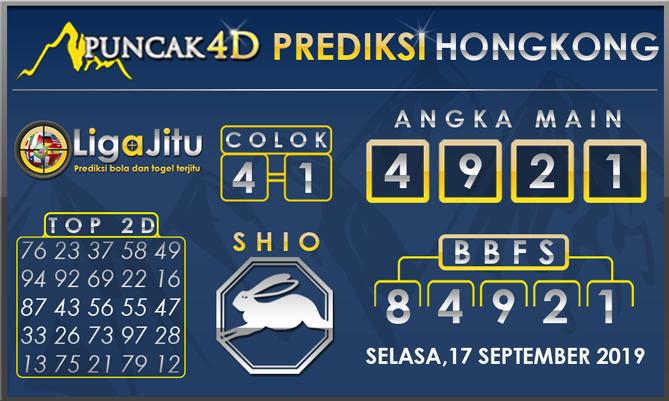 PREDIKSI TOGEL HONGKONG PUNCAK4D 17 SEPTEMBER 2019