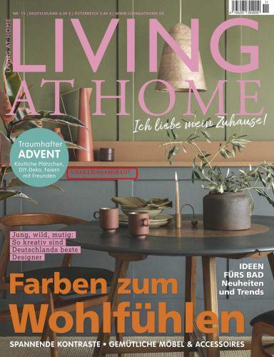 Cover: Living at Home Magazin No 11 November 2021