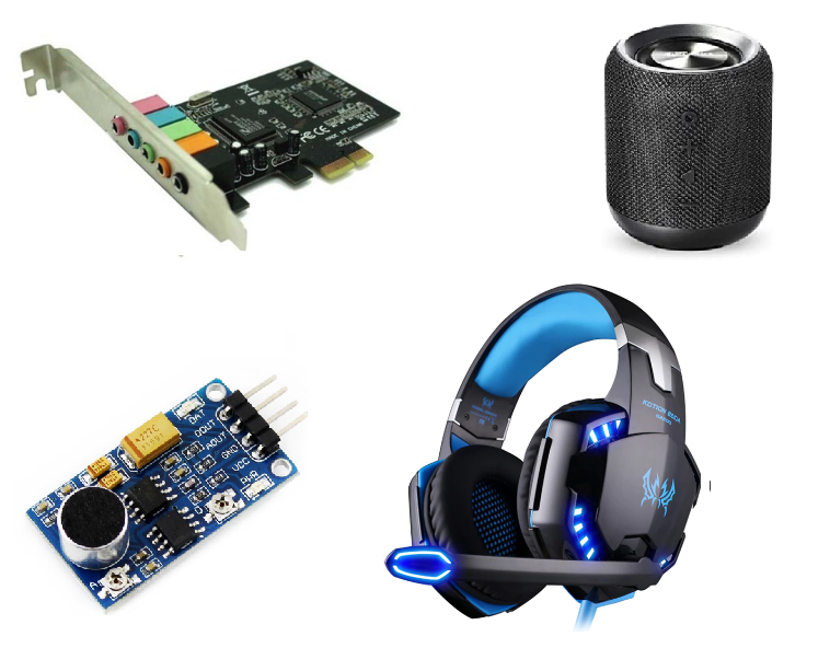 Audio-input-Output-Devices