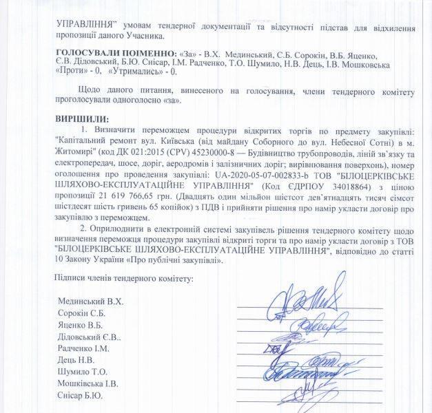 103957558 2597799940537203 5463858915468406696 n - Договір на капремонт Київської у Житомирі збираються укласти з фірмою, яка запропонувала на тендері найвищу ціну - 21,6 млн грн