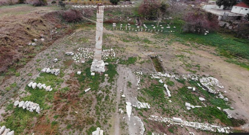 Ruínas do Templo de Artémis em Éfeso