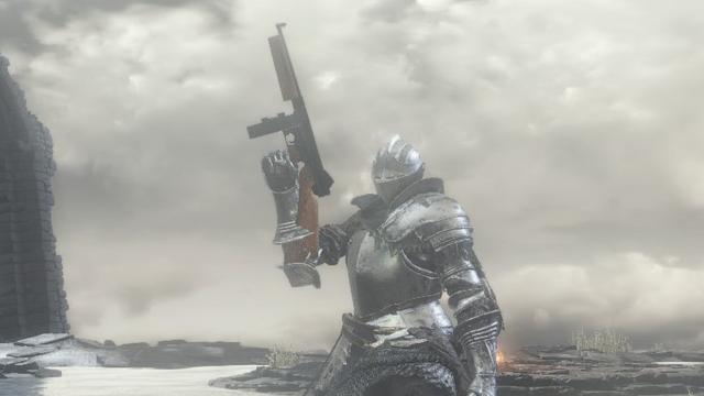 《黑暗靈魂 3》現代槍械MOD Image