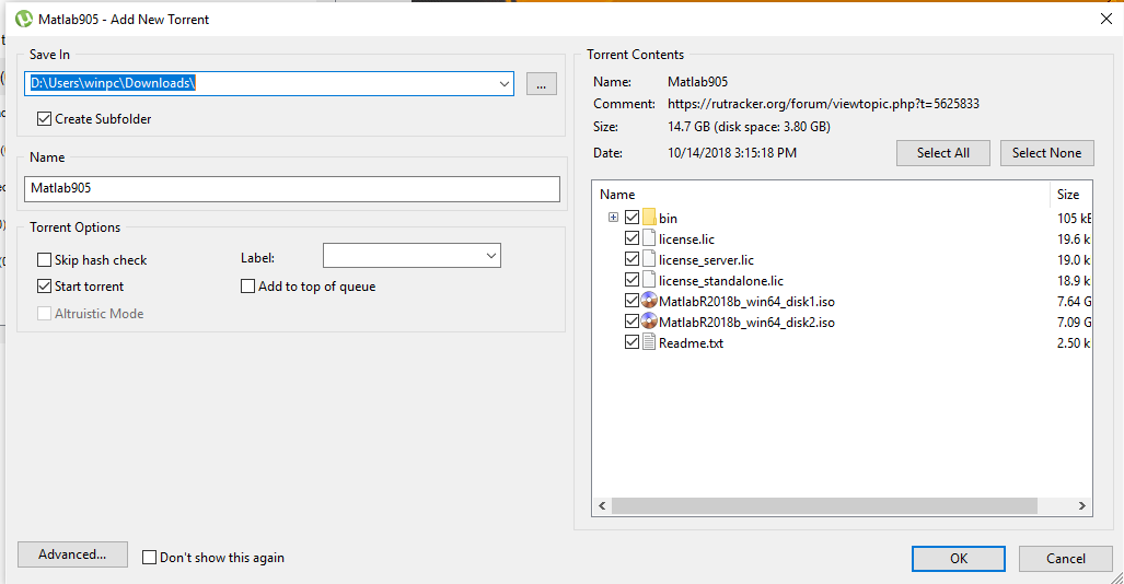 Download Mathworks Matlab R2018b (9 5 0) full key – davi24