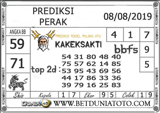 """Prediksi Togel """"PERAK"""" DUNIA4D 08 AGUSTUS 2019"""