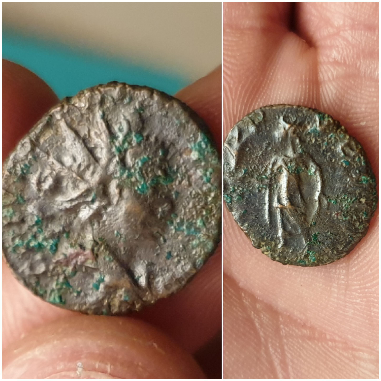 Antoniniano de Tétrico II. SPES PVBLICA. Trier 20200104-220922