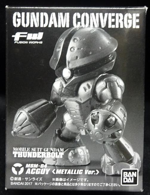 Details about NEW Bandai FW GUNDAM CONVERGE MSM-04 Acguy Daryl Lorenz  Thunderbolt Metallic Ver