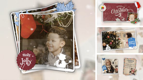 Christmas Folded Slideshow 29359848 - Project for After Effects (Videohive)