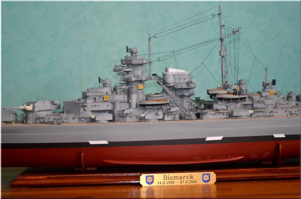 Bismarck au 1/200eme - Maquette Hachette/Amati Bismarck-12
